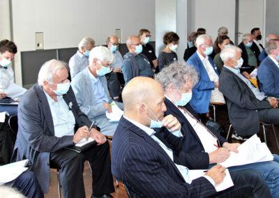 Des délégués attentifs